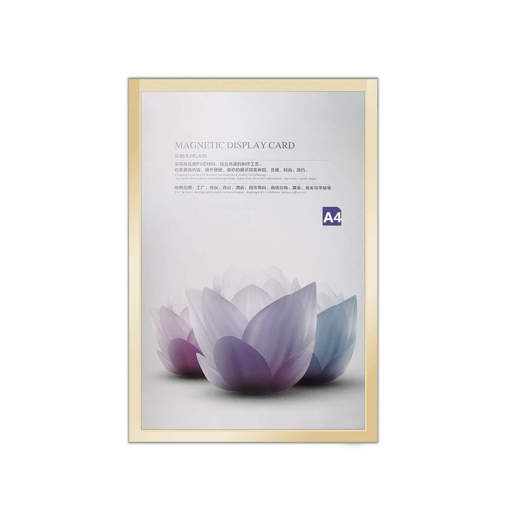 Cadre daffichage de fichier de Licence de Photo Photo A3 A4 A5 A6 Techwills Cadre magn/étique