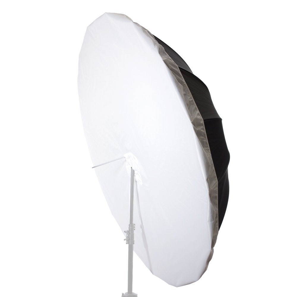Fovitec StudioPRO Photo Studio Diffusion Parabolic Umbrella Front Diffuser Cover (White) - 6 Feet by Fovitec