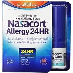 Nasacort Allergy 24 Hour 60 Sprays, 0.37 Fluid Ounce