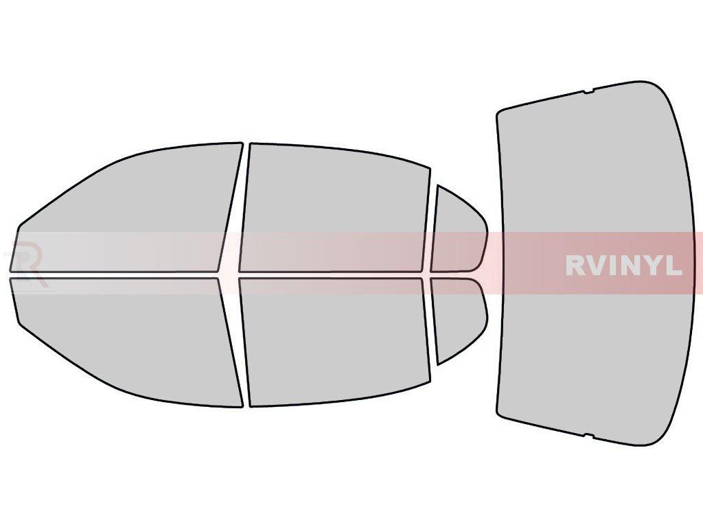 Rtint Window Tint Kit for Chevrolet Malibu 1997-2003 - Complete Kit - 50%