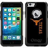 University Of Texas Mascot Full design on Black OtterBox Commuter Series Case for iPhone 6 Plus and iPhone 6s Plus