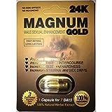 Magnum Gold 24K - 20 Pills Male Enhancement Pill - Fast US Shipping
