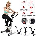 Spin-Bike-Indoor-Cyclette-Compatto-Ciclo-Stazionario-Upright-Bike-Magnetico-Montante-con-Monitor-LCD-Perfect-Home-Macchina-for-Allenamento-for-Cardio
