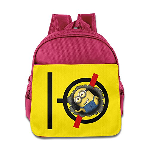 MY LORD Yellow Capsule Superbanana Soldier Pilots Backpack / Kids' School Backpack (Minions Movie: Minion Kevin Adult Costume)