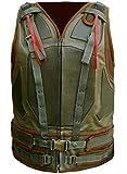 Dark Knight Rises Style Military Green Bane Vest for Men (XL)