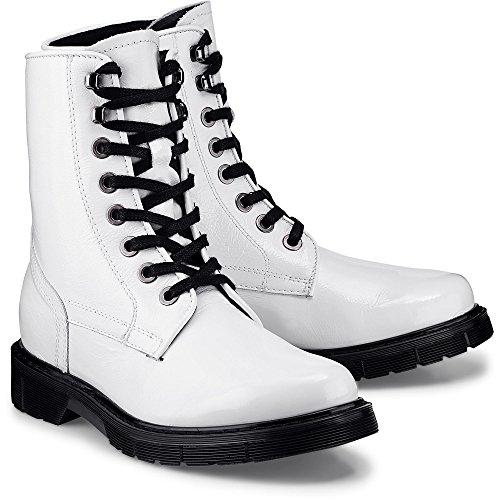 Another A Damen Fashion-Boot Weiß