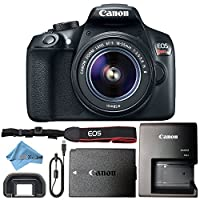 Canon EOS Rebel T6 18MP Digital SLR Camera Retail Packaging Bundle from Canon (ZT)