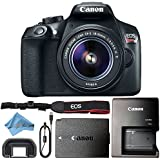 Canon EOS Rebel T6 18MP Digital SLR Camera Retail Packaging Bundle (18-55mm IS II)