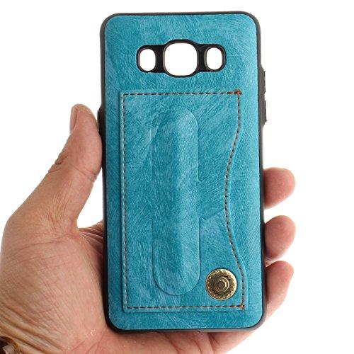 Carcasa para Galaxy J5 (2016 ) Sunroyal® para Samsung Galaxy J5 (2016 ) J510 Funda Reflexión Brillante Lujo Espejo Carcasa Aluminio Carcasa Metal Mirror Bumper Phone Case Hard Cover With Frame Caja de Diseño 12