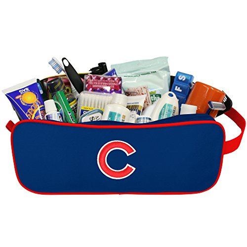 MLB Chicago Cubs Travel Case with Embroidered Logo ()
