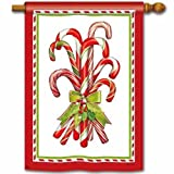 Candy Cane House Flag For Sale