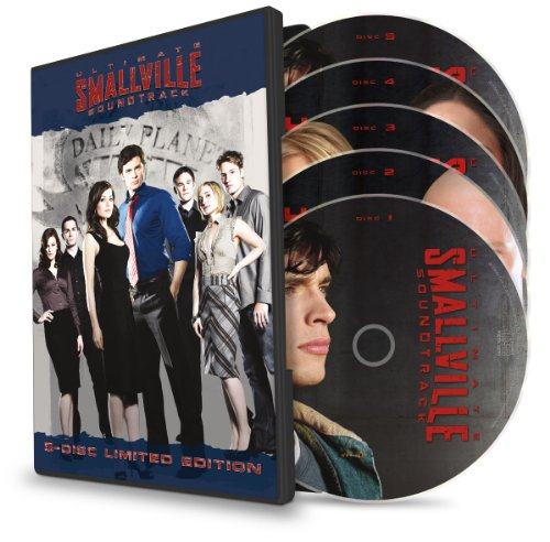 Ultimate Smallville Soundtrack 5 CD Box Set :Remy Zero, Evanescence, Staind, Avril Lavigne, Papa Roach, One Republic, A.F.I., Red Hot Chili Peppers, N.E.R.D., Hoobastank, Sum 41, Lifehouse, The All-American Rejects and dozens of others.