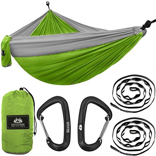 Castle Peak Outfitters XL Double Camping Hammock Swing