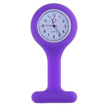 Everpert - Reloj de enfermera, correa de silicona, reloj médico para enfermería: Amazon.es: Hogar