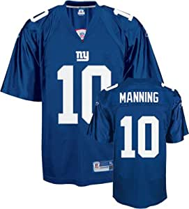 Reebok New York Giants Eli Manning Premier Jersey Medium