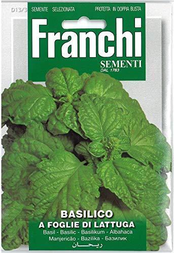 (franchi Seeds Herbs Basil Lettuce Leaf Leafy Lettuce Seed)