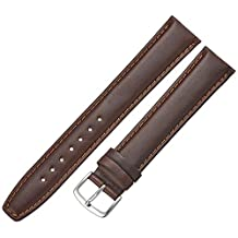 Hadley-Roma Men's MSM881XB-200 20mm Brown Oil-Tan Leather Watch Strap