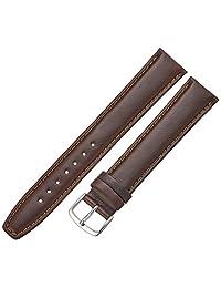 Hadley-Roma Men's MSM881XB-200 20mm Brown Oil-Tan Leather Watch Strap