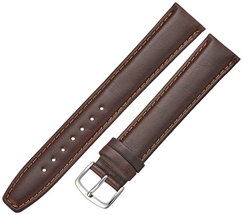 Hadley-Roma Men's MSM881XB-200 20-mm Brown Oil-Tan Leather Watch (Brown Oil Tan Leather)
