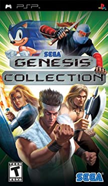 Sega Genesis Collection - Sony PSP
