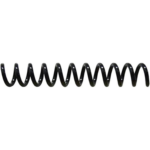4:1 Spiral Binding Coils 6mm Clear pk of 100 /¼ x 36-inch