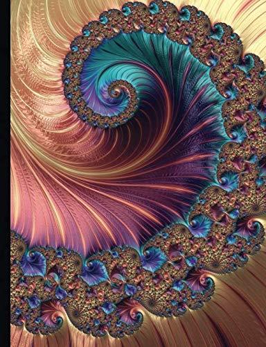 Composition Notebook - College Ruled, 100 Sheets: Mandelbrot Fractal Art - Ashir (Mandelbrot Set Fractals)