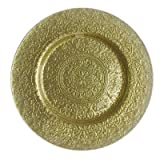 ChargeIt! By Jay Alinea Charger Plate, Gold