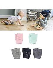Txyk Infant Toddler Baby Adjustable 5 Pair Elastic Knee Elbow Leg Pad