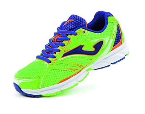 JOMA J.VITALY JR Shoe Spring Summer Zapatos Running Nino Verde Fluo