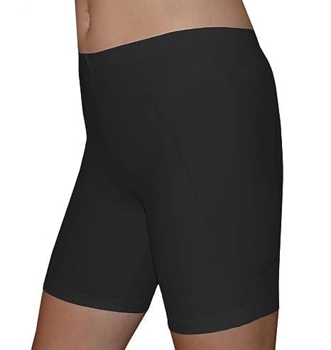 73dcf2557f7a Amazon.com: Tuga Girls / Women Padded Slider Sports Shorts, 5 Inch ...