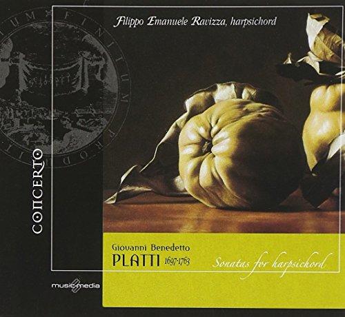 Harpsichord Complete Sonatas (Giovanni Benedetto Platti: Complete Sonatas for Harpsichord)