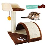 Pelay Cat Tree Scratching Post Furniture Playhouse Pet Bed Kitten Toy (Tree)