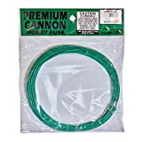100 feet of 2mm Green Fuse for Model Rocketry, Mini Cannon, Fireworks (5 x 20ft Rolls)