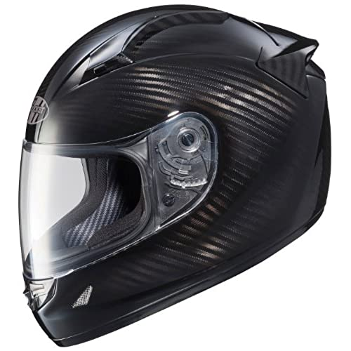 Joe Rocket Speedmaster Full Face Carbon Fiber Motorcycle Helmet (Carbon, Large)
