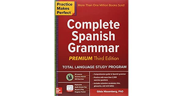 Practice makes perfect complete spanish grammar premium third practice makes perfect complete spanish grammar premium third edition livros na amazon brasil 9781259584190 fandeluxe Choice Image