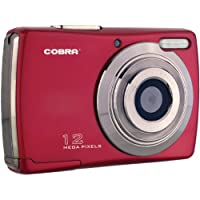 Cobra Digital DCA1215 RED 12 MP Digital Camera with 8 x Optical Zoom (Red)