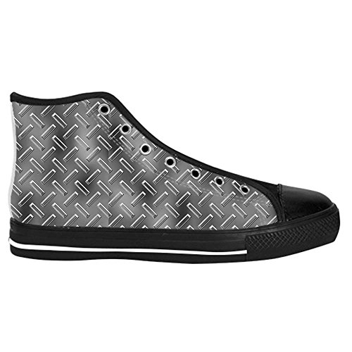 Dalliy Metal Mens Canvas shoes Schuhe Lace-up High-top Sneakers Segeltuchschuhe Leinwand-Schuh-Turnschuhe A