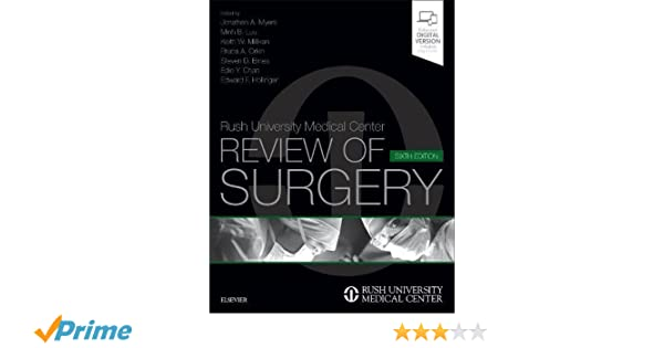 Rush university medical center review of surgery, 6e 6th edition.