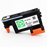 ESTON 940 Printhead C4900A Black/Yellow Replacement for HP940 Printhead For HP Officejet Pro 8000 8500 8500A 8500A Plus 8500A Premium (1 Pack)
