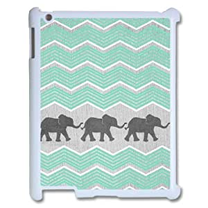 Aztec Elephant ZLB532928 Personalized Phone Case for Ipad 2,3,4, Ipad 2,3,4 Case