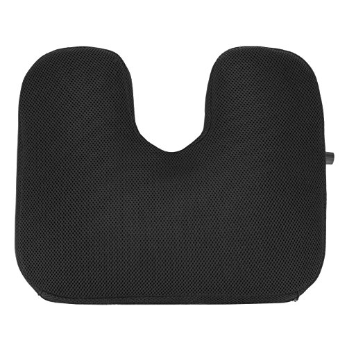 Travelon Luggage Self Inflating seat Cushion, Black