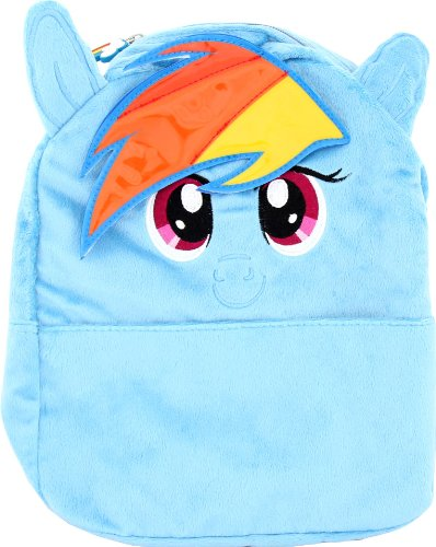 My Little Pony Small Backpack Rainbow Blue 12