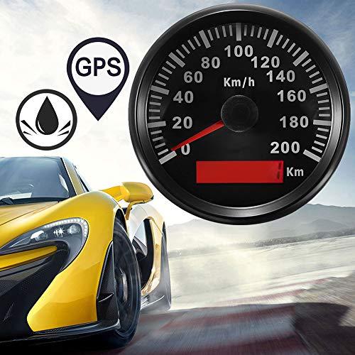 YSHtanj GPS Speedometer Motorcycle Electronics Speedometer 200KM/H Car Vehicle Motorcycle Digital GPS Speedometer Waterproof Odometer Gauge: Amazon.co.uk: Lighting