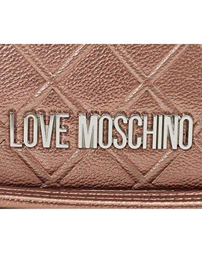 Love Bronze Shoulder Accessories Bag Logo Metallic Moschino RAOrnpR