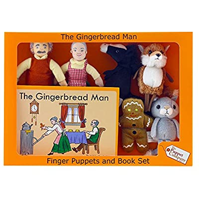 The Puppet Company Traditional Story Sets The Gingerbread Man Book and Finger Puppets Set: Industrial & Scientific