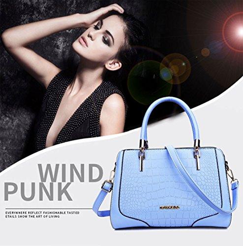 Bags Shoulder Top Handle Handbags Women's Bags Faux Body Cross Leather Wathet Bags 1wxgqY70