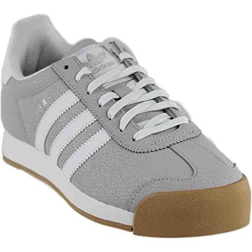 Scarpe Donna Adidas Samoa Chiaro Grigio Chiaro / Bianco / Argento Metallizzato Bb8984 Grigio Chiaro Chiaro / Bianco / Argento Metallizzato