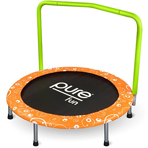 Pure Fun Kids 36'' Foldable Kids Mini Trampoline by Pure Fun