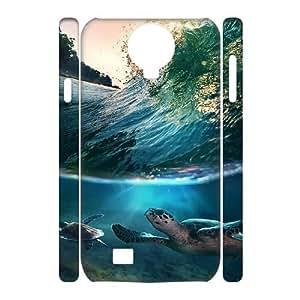 Sea Turtle Customized 3D Cover Case for SamSung Galaxy S4 I9500,custom phone case ygtg565421 WANGJING JINDA