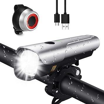 VéloSet Lumière Mah RechargeableEclairage Ultra Lumens 200mSamsung 2600 Avec Usb 600 Led Portée De Vélo Lampe Batterie Lumineux Une D9IWEYH2